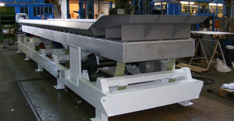 General Kinematics toaster conveyors are custom engineered to applications.
