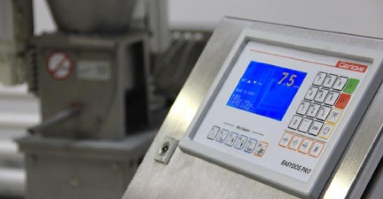 Control systems automatically weigh and feed the right amount of material.