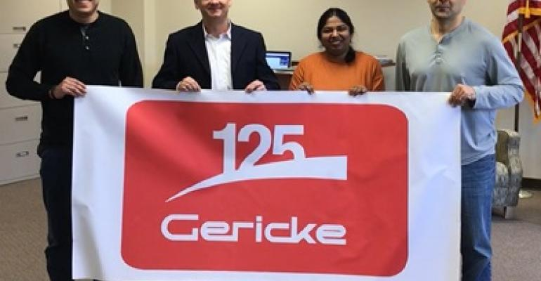 Gericke is celebrating its 125th anniversary