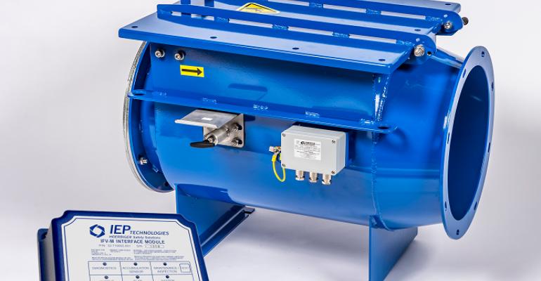 IEP Technologies IsoFlap valve