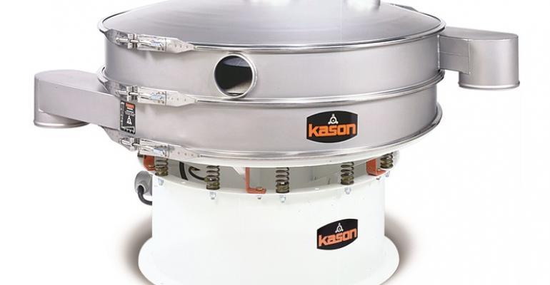Kason Vibroscreen circular vibratory screener