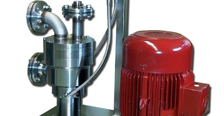 Kinematica Megatron MT-VP powder dispersing/induction machine