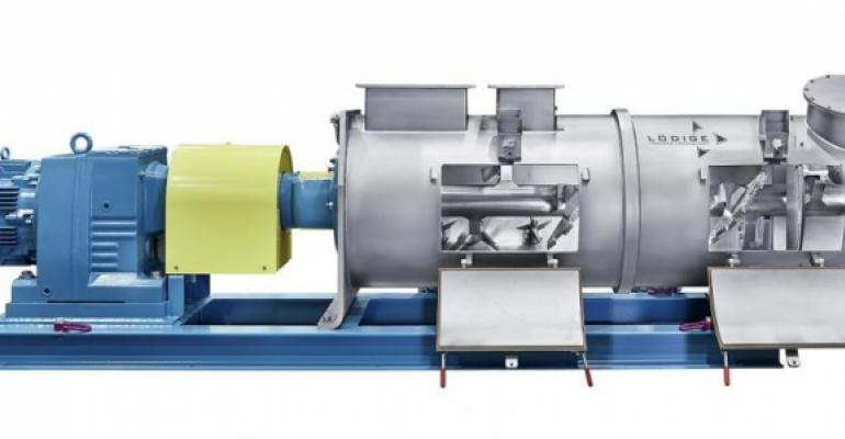 Continuous KM series Ploughshare mixer