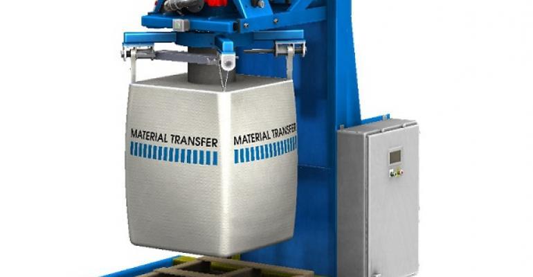 Material Transfer & Storage bulk bag filler