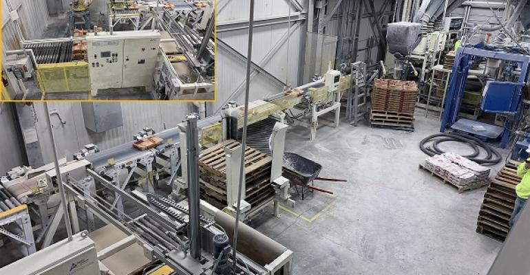 Figure 1: Packaging automation line