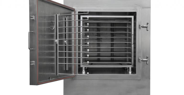 Italvacuum Introduces Vacuum Tray Dryer