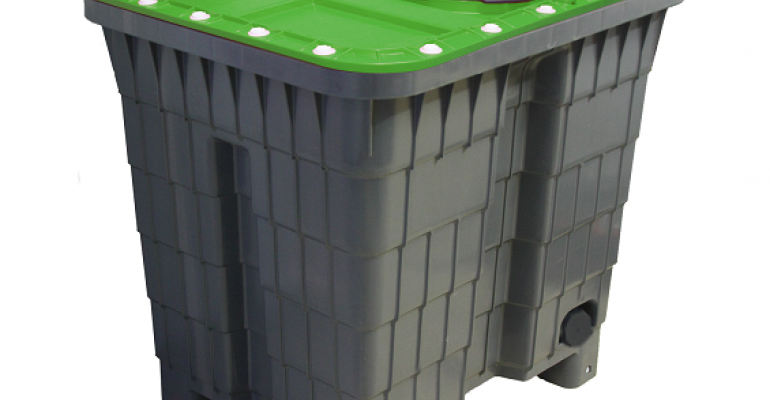 Multitank 400-l reusable storage and transport container