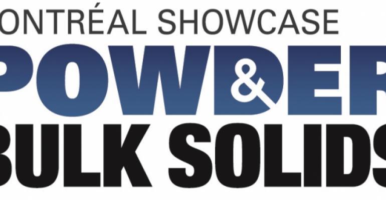 Powder & Bulk Solids Montreal, November 14-15,2018