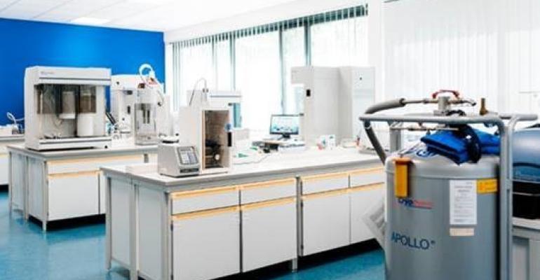 Particle testing lab in Munich-Unterschleißheim