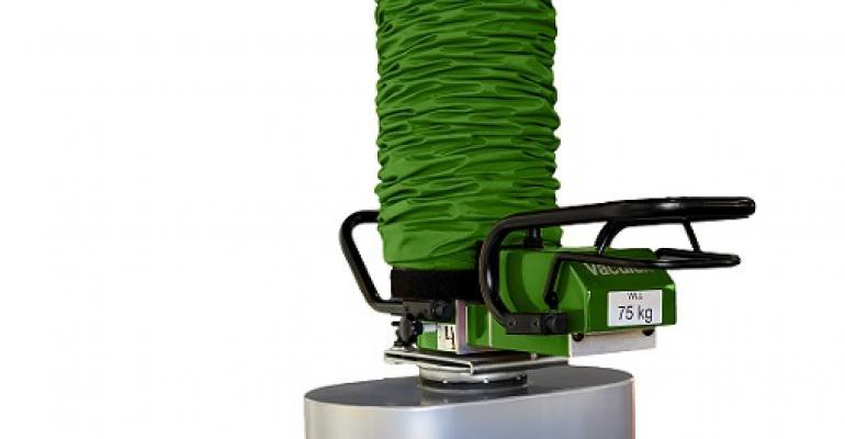 Piab's Vaculex vacuum lifter