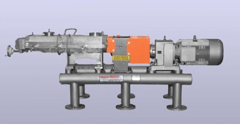 Continuous processors feature a design that allow safe operation while running on empty.