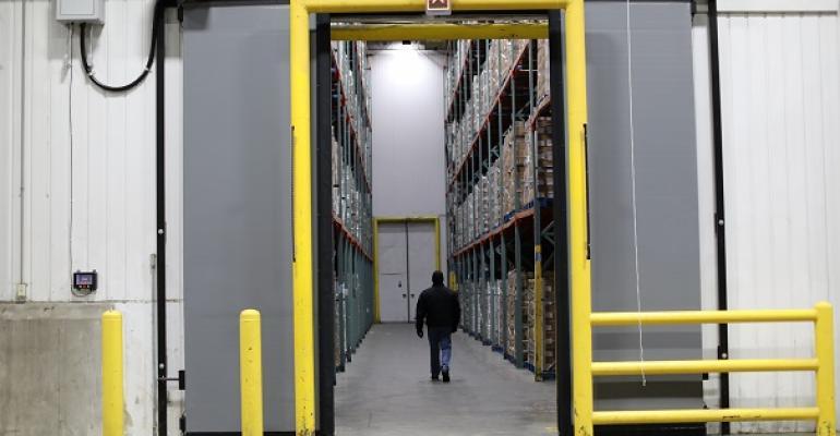 Rite-Hite Barrier Glider cold storage door