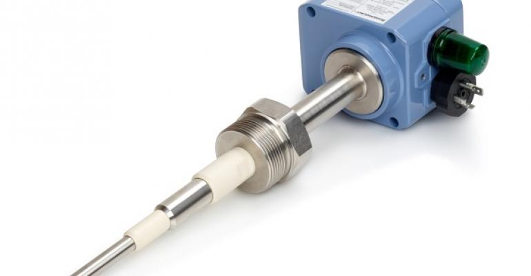 Figure 4: Capacitance level switches can tolerate wet and hot products.