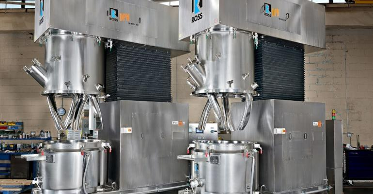 Charles Ross 150-gal Model DPM-150 double planetary mixers
