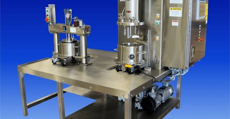 Ross VersaMix Model VMC-1 and discharge system Model DS-1