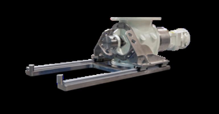 Rotolok USDA Dairy-accepted rotary airlock