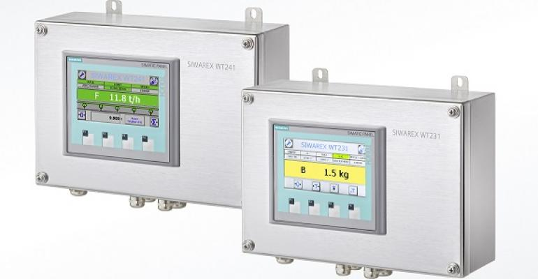 Siemens Siwarex WT231 for non-automatic scales