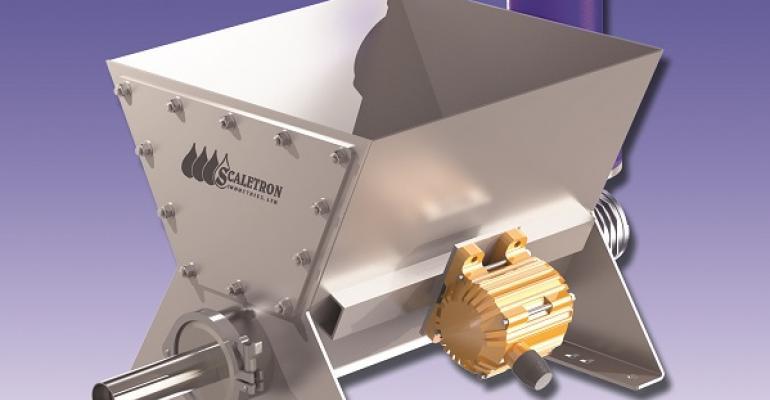 Scaletron Industries VMF-90D volumetric screw feeder