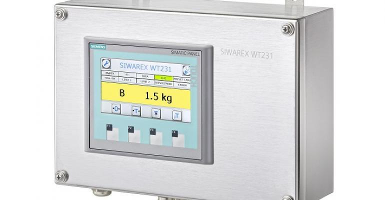Siemens Siwarex WT231 weighing terminal