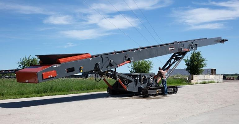 Superior Industries is debuting two new tracked conveyor models.