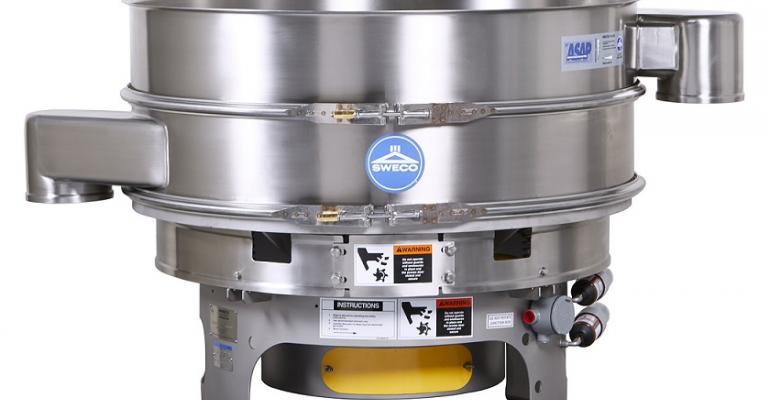 SWECO Vibro-Energy round separator