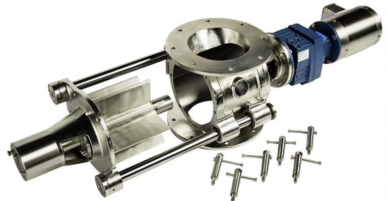 Wm. W. Meyer USDA-approved Klean-In-Place (KIP) II rotary airlock feeder valve