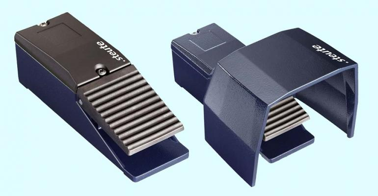 ZF Electronic Systems Steute's Series GF/GFS industrial-grade foot switches