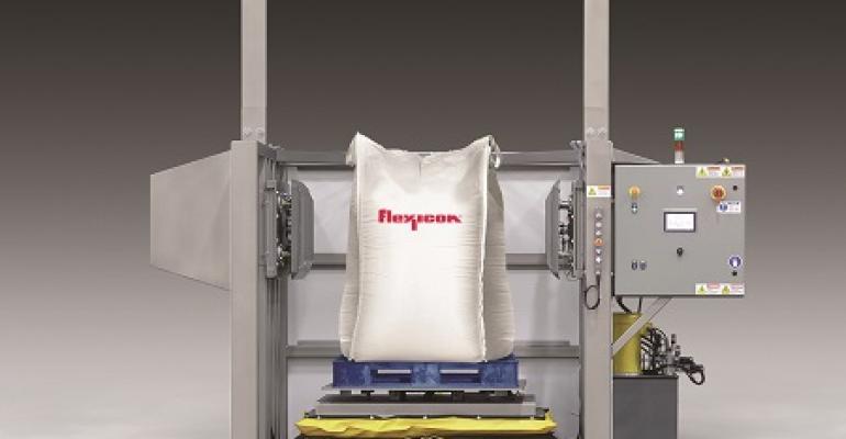 Flexicon Block-Buster bulk bag conditioner