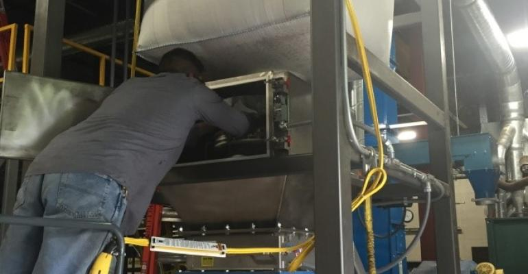 Sterling Systems & Controls' line of bulk bag unloading systems is now available with integral dust containment.