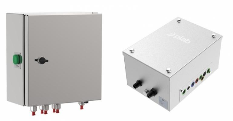 Piab introduces the first version of a new electrical control unit ECU-10.