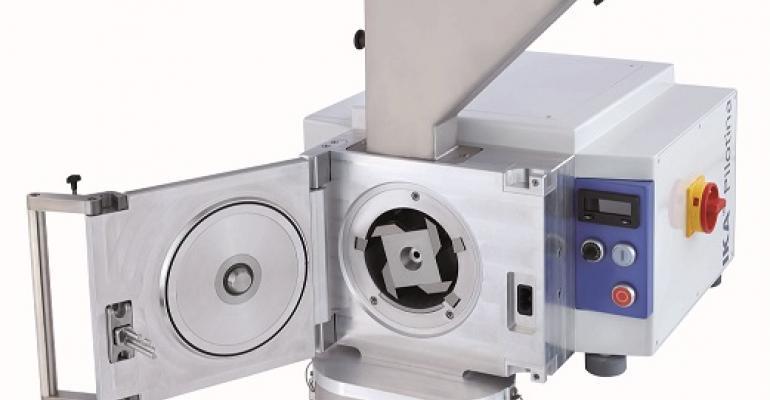 IKA Pilotina dry milling system