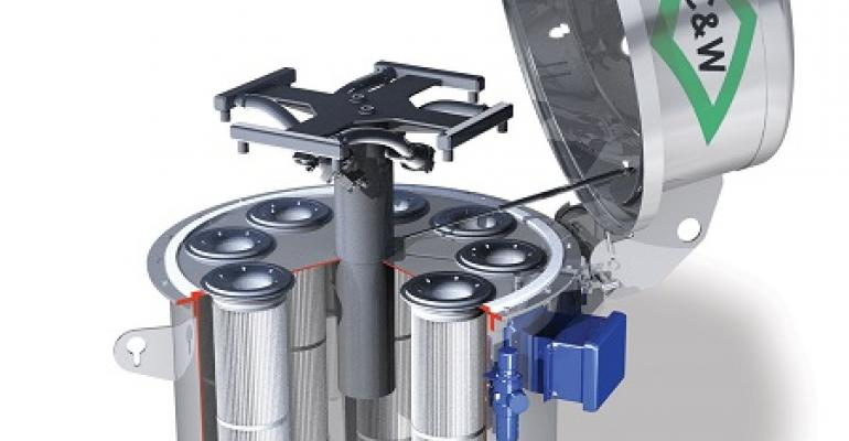 C&W Environmental Solutions pulse jet collector