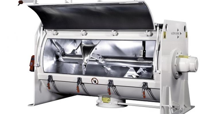 The FKM series Ploughshare batch mixer