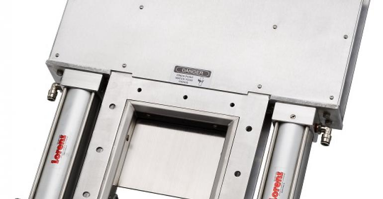 Lorenz dual air cylinder roller gate