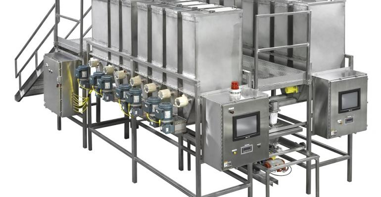 Sterling Systems & Controls customized automatic material weighing system