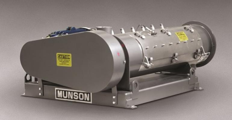 Munson Machinery variable intensity blender