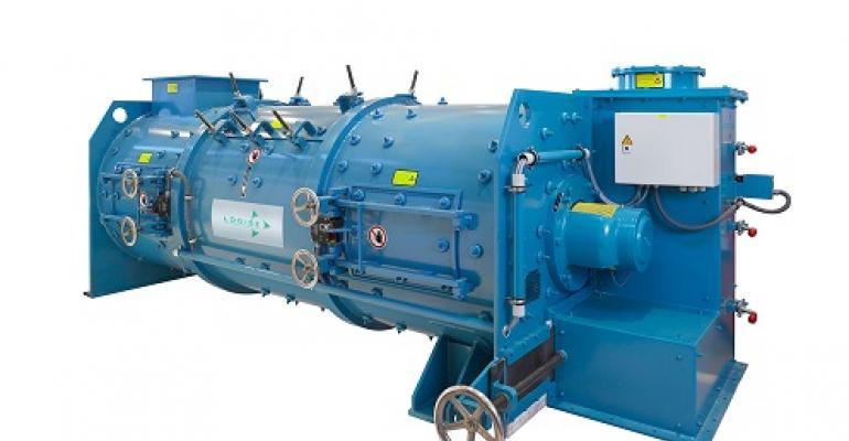 Lödige continuous Ploughshare mixer KM