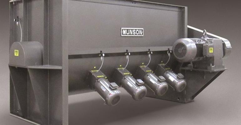 The new Munson Model HD-510-MS paddle blender
