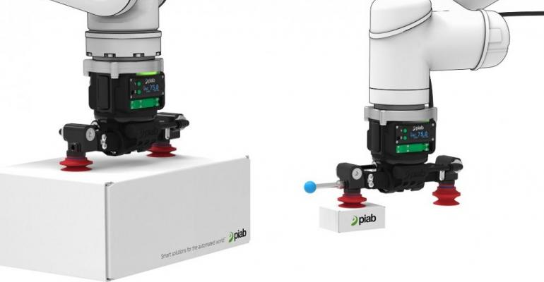 Piab vacuum operated end-of-arm-tool piCOBOT