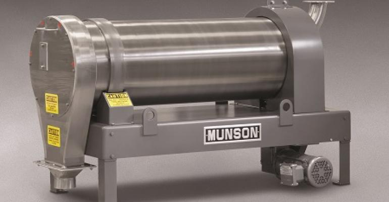 Munson Machinery model CM-16X4-SS rotary continuous mixer