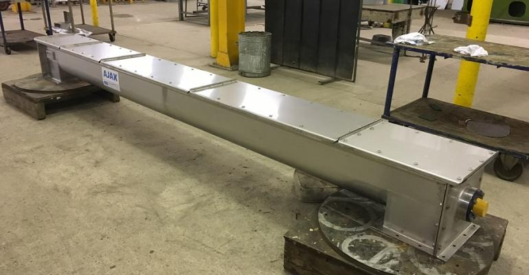 Ajax Equipment screw conveyor