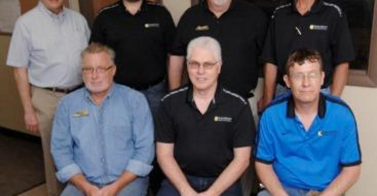 Kalenborn Abresist Corp. recently recognized several employees with 25 years or more of service