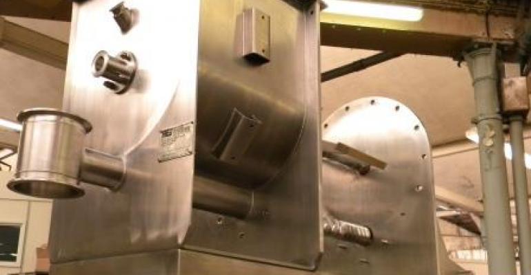 Ajax Equipment has supplied Hosokawa Micron with an agitated screw feeder and integral hopper.