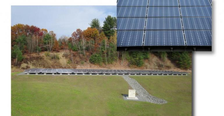 BETE Fog Nozzle Installing Solar Panels at Corporate Headquarters