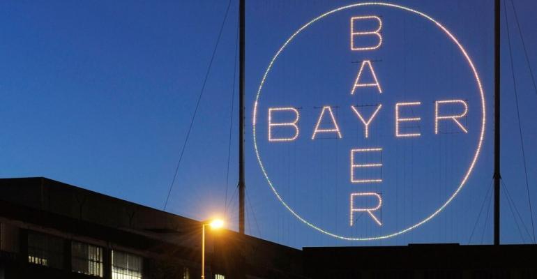 The Bayer cross, courtesy of Bayer AG