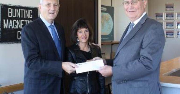 Bunting Magnetics Donates $100,000