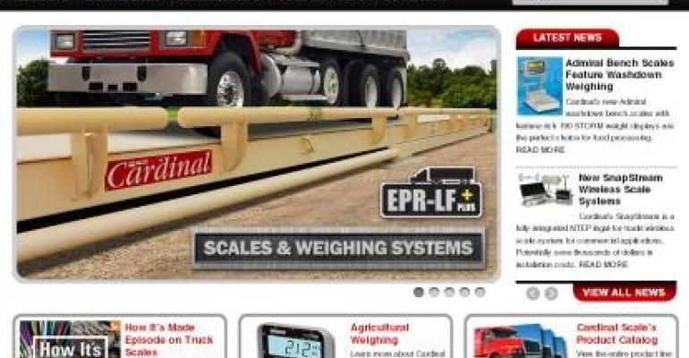 Cardinal Scale Launches New Web Site