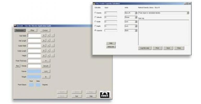 Free, Downloadable Vibratory Equipment Sizing, Application Programs