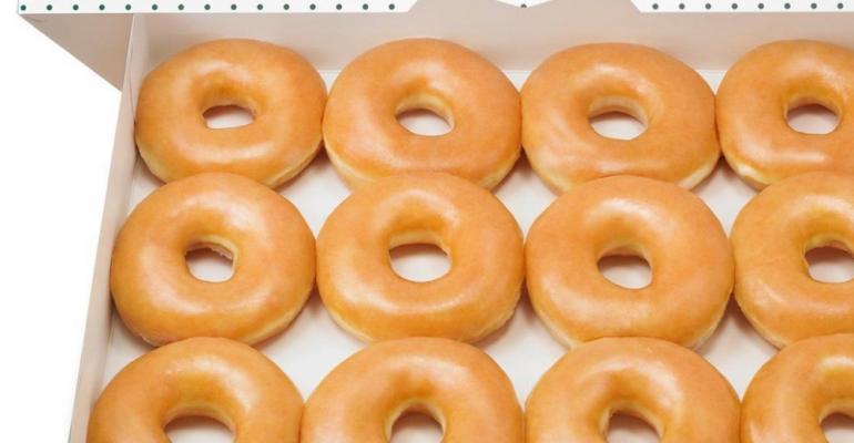 Image courtesy of Krispy Kreme Doughnuts.