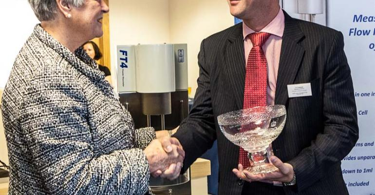 Freeman Technology, Guests Celebrate Queen's Award Presentation